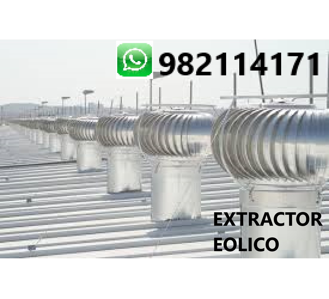 Extractor Eólico Venta é Instalacion en Miraflores, San Isidro, Surco