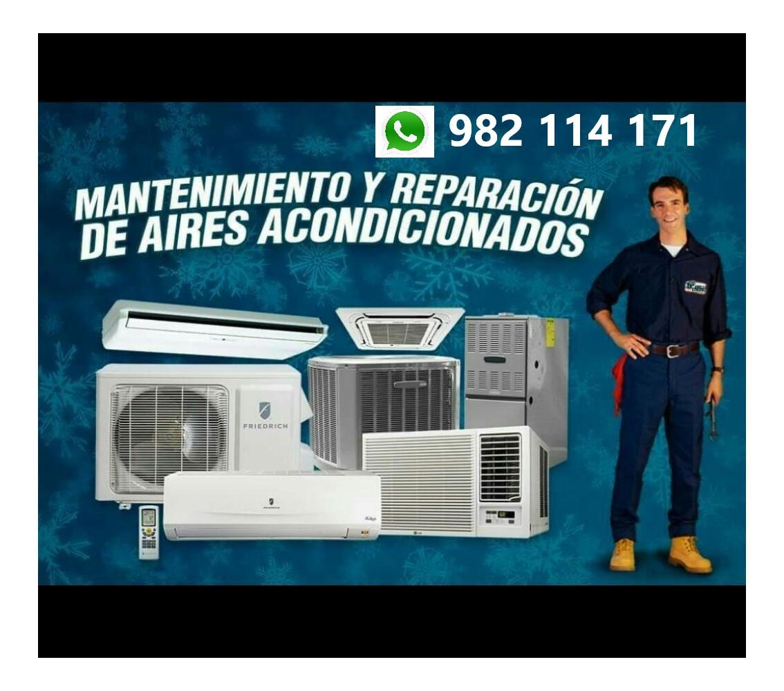 Aire Acondicionado Mantenimiento, Reparación e Instalación en Miraflores, San Isidro